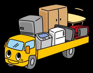 一般家庭の大型・粗大ゴミ買取のイメージ